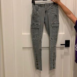 J brand cargo jeans size 27